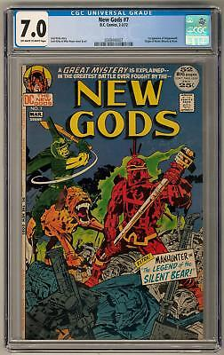 New Gods #7 CGC 7.0 (OW-W) 1st Appearance of Steppenwolf