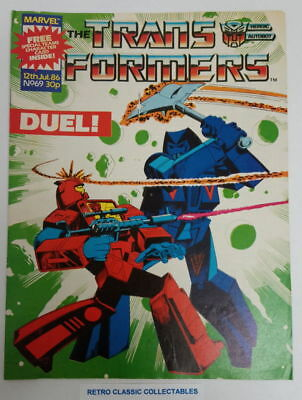 Marvel UK - The Transformers - Comic - No. 69 - 12th July. 1986