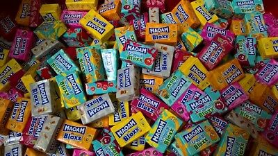 120 Haribo Maoam Bloxx Mix ! 6 Sorten ! Giveaway Wurfmaterial Karneval Fasching