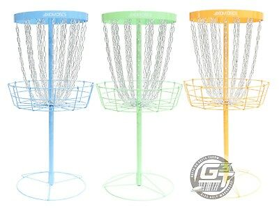 Axiom Discs PRO 24 Chain Portable Disc Golf Basket - PICK YOUR COLOR
