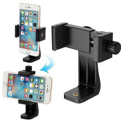 Universal Cell Phone Tripod Adapter Holder Smartphone Mount For Samsung iPhone F