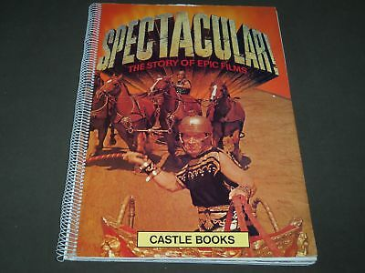 1974 Spectacular The Story Of Epic Films Book By John Cary & Kobal - Cw 1235