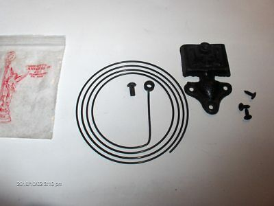 "NOS 4"" Diameter Wire Gong & Base, for Clock Cabinet Side Mounting"