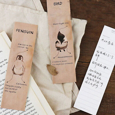 Kawaii Fun Animal Cartoon Bookmark Paper For Books Babys Gifts Cute B