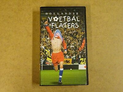 Vhs Video Cassette / Hollandse Voetbal Flaters