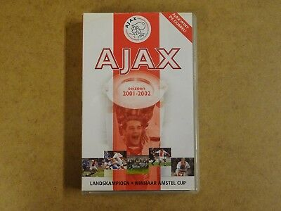 Vhs Video Cassette Voetbal / Ajax Seizoen 2001-2002