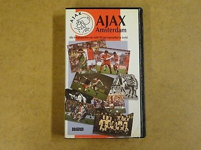 Vhs Video Cassette Voetbal / Ajax Amsterdam