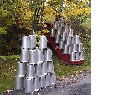 20 GREAT Aluminum Sap Buckets Maple Syrup Bucket 2 GALLON ~ NEED MORE?