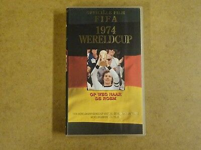 Vhs Video Cassette Voetbal / Officiele Film Fifa 1974 Wereldcup Duitsland