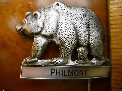 Philmont Bear Scout Ranch Hiking Staff Medallion (New In Package)