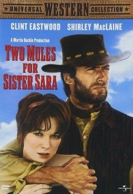 TWO MULES FOR SISTER SARA New Sealed DVD Clint Eastwood