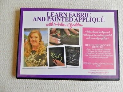 Learn Fabric and Painted Applique - Instructional DVD