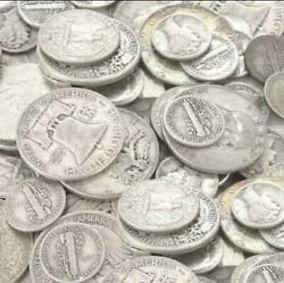$1 Face Value -Silver Coins -Dimes/Quarters/Halves/Dollars SILVER investments