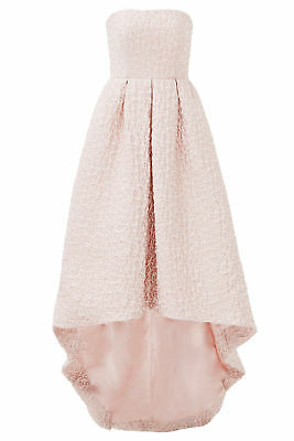 3d246943f8 Cynthia Rowley Pink Women s Size 12 Strapless High Low Gown Dress  895-  580