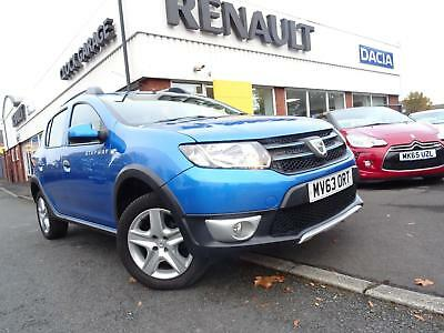 £139 a Month with £349 Deposit, 2013 63 Dacia Sandero Stepway 0.9TCe 90 Laureate