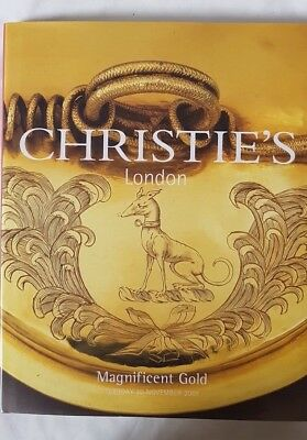 Christie'S London Hardback Catalogue Magnificent Gold 20 November 2001