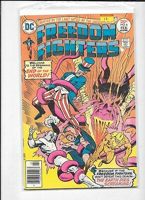 FREEDOM FIGHTER  #6 DC COMICS  COMIC BOOK  99c shipping
