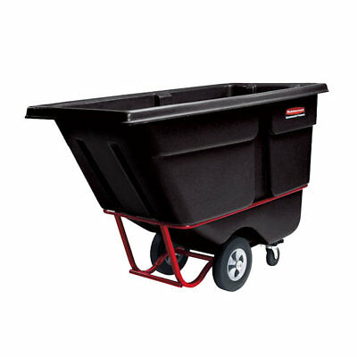 Rubbermaid FG131600BLA 1.0 Cubic Yard Tilt Truck (2100 lb.) Black