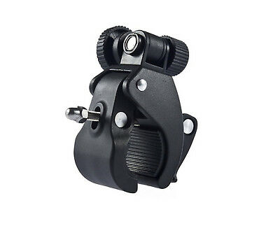 Micro Single Camera Bicycle DV Clip 180 Degree Adjustable Crab Clamp Bracket 1/4