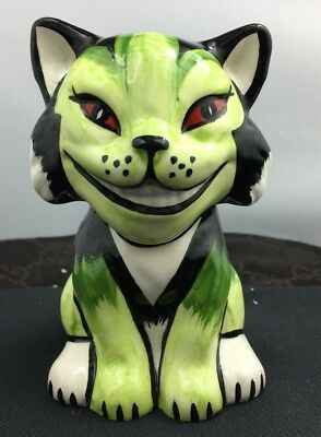 Lovely Signed Lorna Bailey Mephisto Cat Figurine Made In England SU108