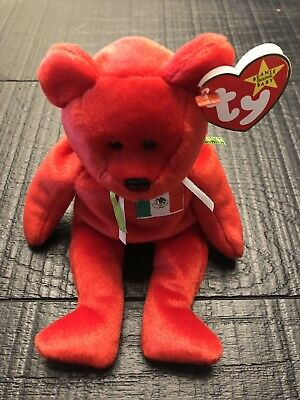 Ty Beanie Baby - Osito the Mexican Teddy Bear, PE Pellets, Mint w/Tags