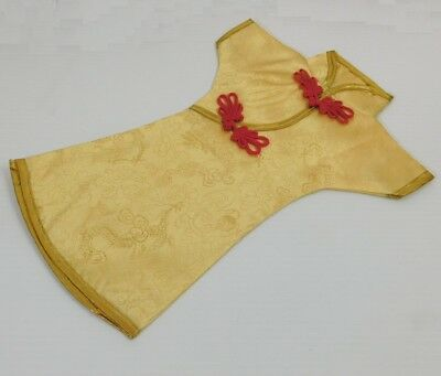 Wine Decoration Oriental Chinese Yellow Ladies Dressing NEW (YD-Y)