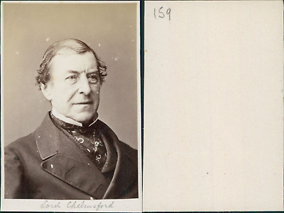 Lord Chelmsford, Frederic Augustus Thesiger, 2e baron Chelmsford vintage CDV alb