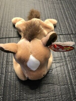 TY Beanie Baby - DERBY the Horse, PE Pellets, Mint w/Tags