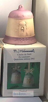 Goebel Hummel Christmas Bell 1992 Harmony in four parts fourth edition