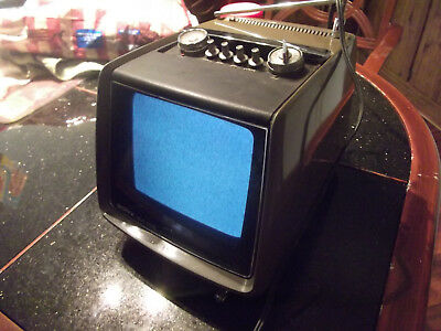 "SONY TV-750 THE ""NAPOLEON DYNAMITE"" MODEL 7"" Portable B&W TV. Circa 1972"