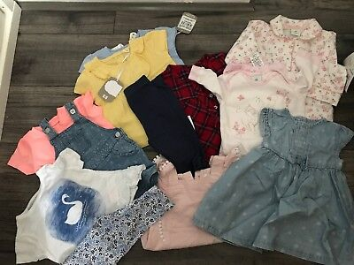 Bundle Baby Girls Clothes Age Up To 3 Months
