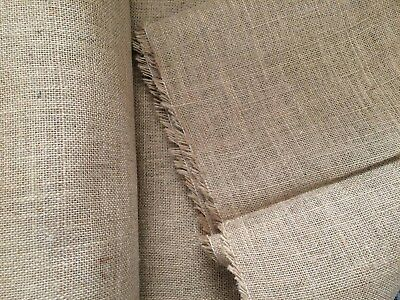 "Best Quality Hessian for backing latch hook kits. 1metre by 127cm (39x50"")"