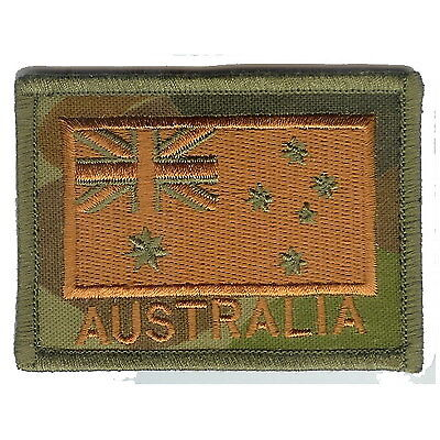 Australian National Flag (Subdued) Militaria Patch Patches