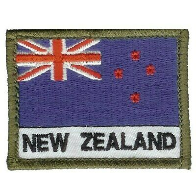New Zealand Flag Patch Militaria Patch Patches