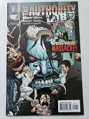 THE AUTHORITY vs LOBO: SPRING BREAK MASSACRE #1 (2005) ONE-SHOT SIMON BISLEY ART