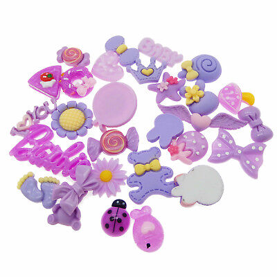Mix Lot Cute Food Candies Scrapbooking Flatback Cabochons DIY Craft Kit Supplies