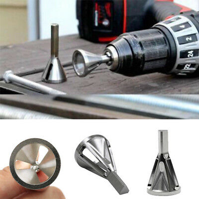 Deburring External Chamfer Tool Stainless Steel Remove Burr Tools Drill Bit New