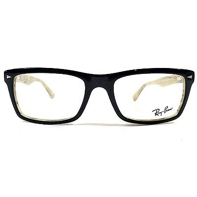 b49684888fc New Ray Ban Optical Eyeglasses RX Frame RB 5287 5131 Blue Beige Horn 52-18