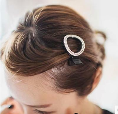 Sweet Women Acrylic Crystal Hair Clip Crab Claw Jaw Clamp Hair Clamp