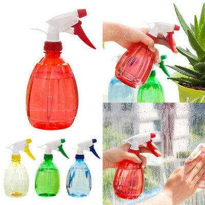 5 Colors 500ml Spray Bottle Plastic Water Spray For Salon Plants Pet Cleanning