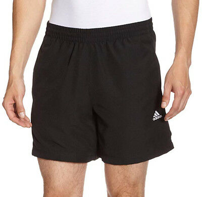 adidas Essential Chelsea Mens Running Shorts - Black