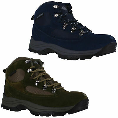 Mens Northwest Terrain Waterproof Lace Up Walking Hiking Boots Sizes 7 to 12