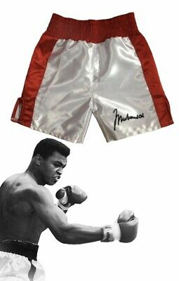 Autographed Baby Boxing Shorts Muhammad Ali for 6, 12, 18 & 24 Month old Babies