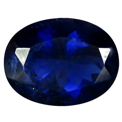1.34 ct AAA Superior Oval Shape (8 x 7 mm) Iolite Natural Loose Gemstone