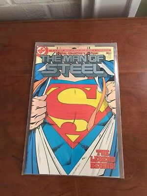 Man of Steel (1986 series) #1~~DC Superman comics