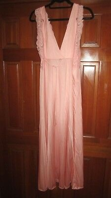 Vintage Lily of France Pink Nightgown L