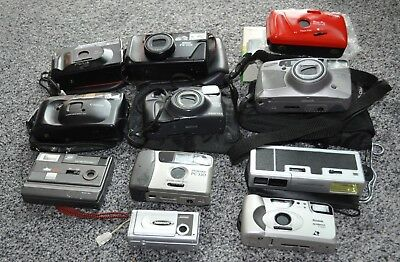Collection Of 11 Cameras