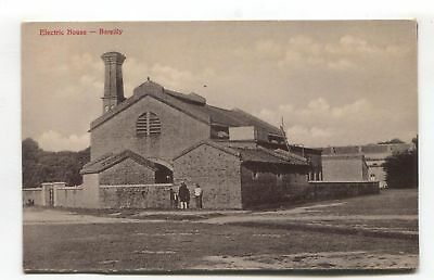 Bareilly, Uttar Pradesh - Electric House, power station? - old India postcard