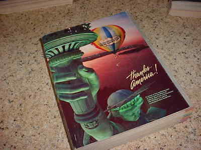 1986 SEARS ROEBUCK Vintage Large Fall and Winter CENTENNIAL Catalog 1382 Pages