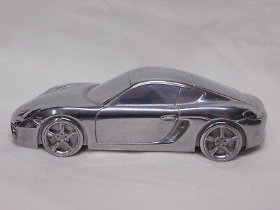 Porsche 981 Cayman S Aluminum Model Paperweight With Box Limited Edition
